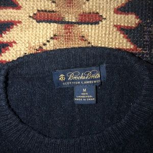 Brooks Brothers Sweaters - Mens Brooks Brothers Lambswool Crewneck Sweater M